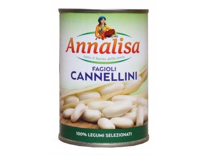 Annalisa  Bílé fazole Cannellini 400/240g