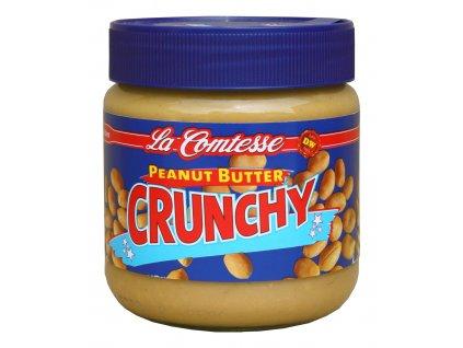 La Comtesse  Arašídová pomazánka s kousky (Peanut Butter Crunchy)  350g