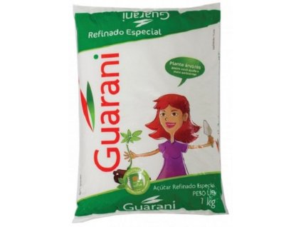 Guarani Třtinový cukr bílý práškový 1kg