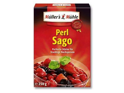 Müller´s Mühle Perl Sago zrnitý škrob ságo 250g