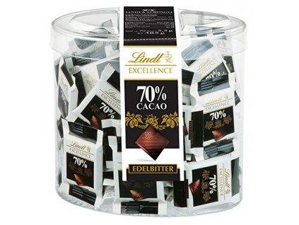 Lindt Excellence Hořká čokoláda mini se 70% kakaa 70x5,5g