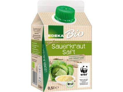 Edeka  Šťáva z kysaného zelí 500ml bio