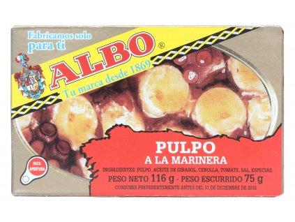 """Chobotnice """"Pulpo"""" (Oktopus) v americké omáčce 116/75g"""