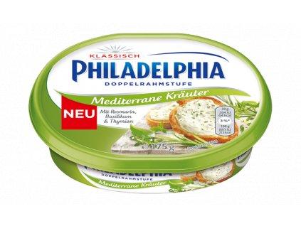 Philadelphia Smetanový sýr se středomořskými bylinkami 175g