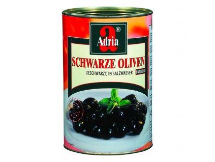 Olivy černé bez pecky 4250ml/2000g