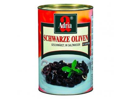 Olivy černé krájené 4250ml/2000g