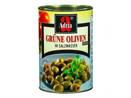 Olivy zelené bez pecky 4250ml/2000g