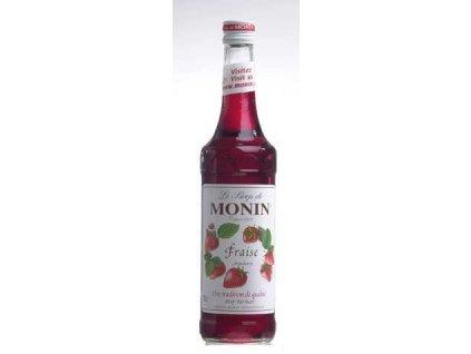 Monin  Fraise  Jahodový sirup 0,7l