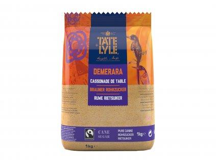 Tate&Lyle Třtinový cukr Demerara hnědý krystal 1kg