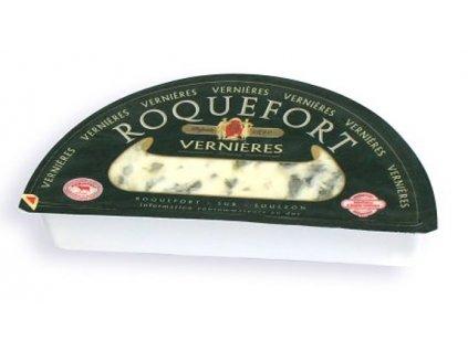 Vernières  Roquefort AOC sýr 52% t.v.s. 600g