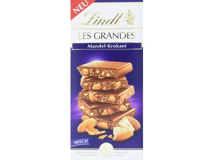 Lindt Les Grandes Mandlový krokant 150g