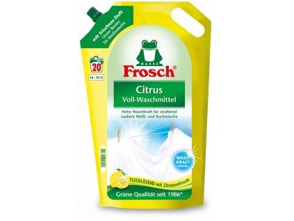 Frosch prací gel na bílé prádlo Citrón 20 dávek 1,8L