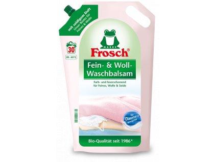 Produktvorlage frosch detailseite fein woll waschmittel