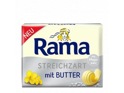 Rama Streichzart mit Butter mit Meersalz