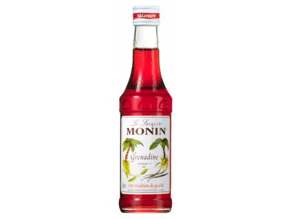 Monin Grenadine  Sirup grenadina 0,25l