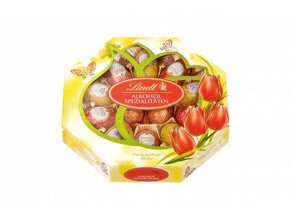 Lindt Velikonoční čokoládová vajíčka plněná alkoholem 216g