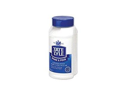 Tate&Lyle Shake&Pour Třtinový cukr bílý práškový 750g