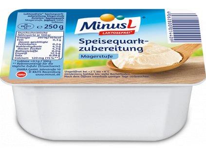 MinusL Tvaroh nízkotučný se sníženým obsahem laktózy 250g