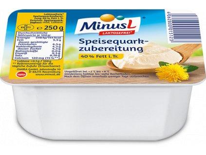MinusL Tvaroh tučný 40% t.v.s. se sníženým obsahem laktózy 250g