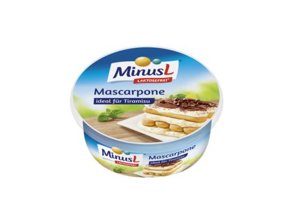 MinusL Mascarpone se sníženým obsahem laktózy 250g