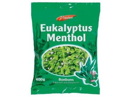 Piasten Eukalypto-mentolové bonbony 400g