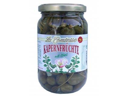La Comtesse  Kapary se stopkou (Cherry Capers) 350/170g