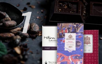 1) Historie čokolády v datech