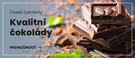 Kvalitní české čokolády
