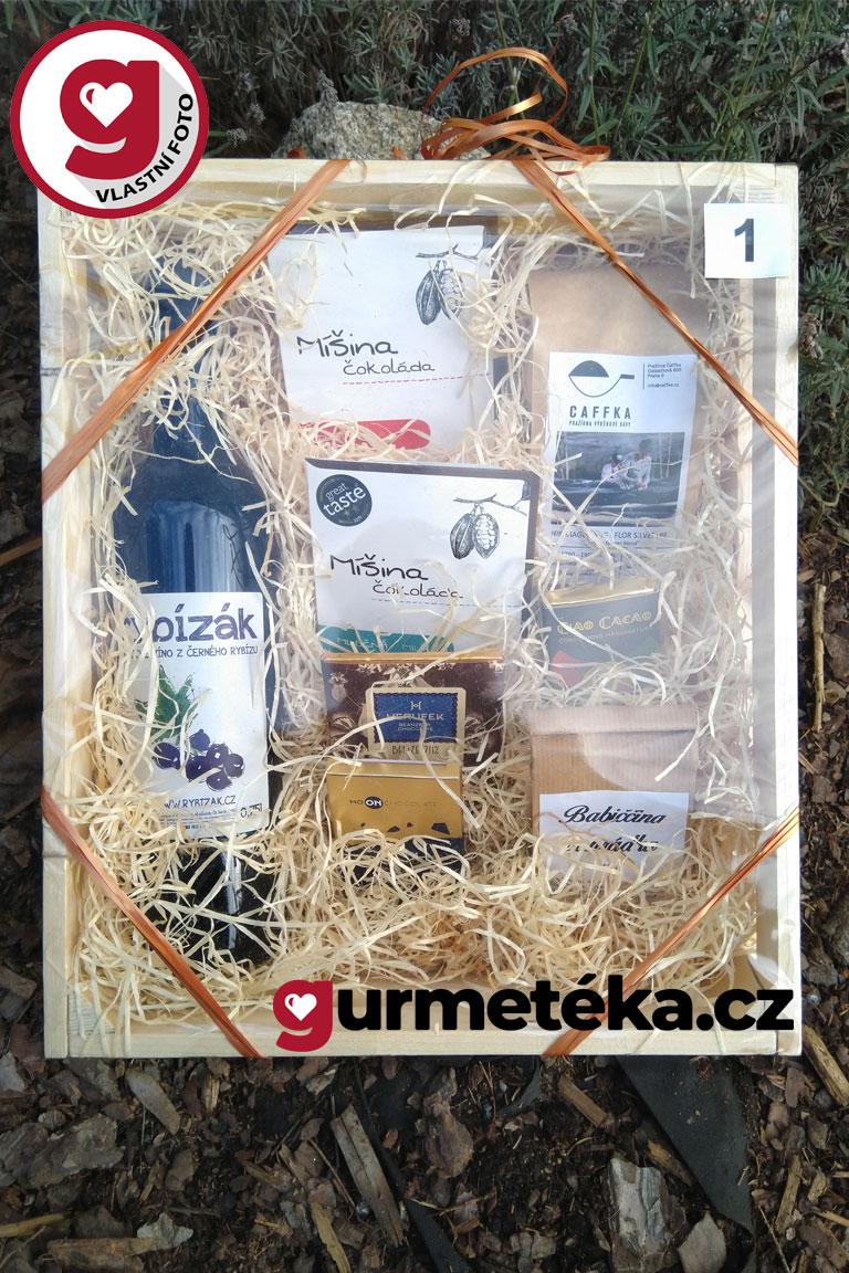 Dárková-bedýnka-produkty-Gurmetéka