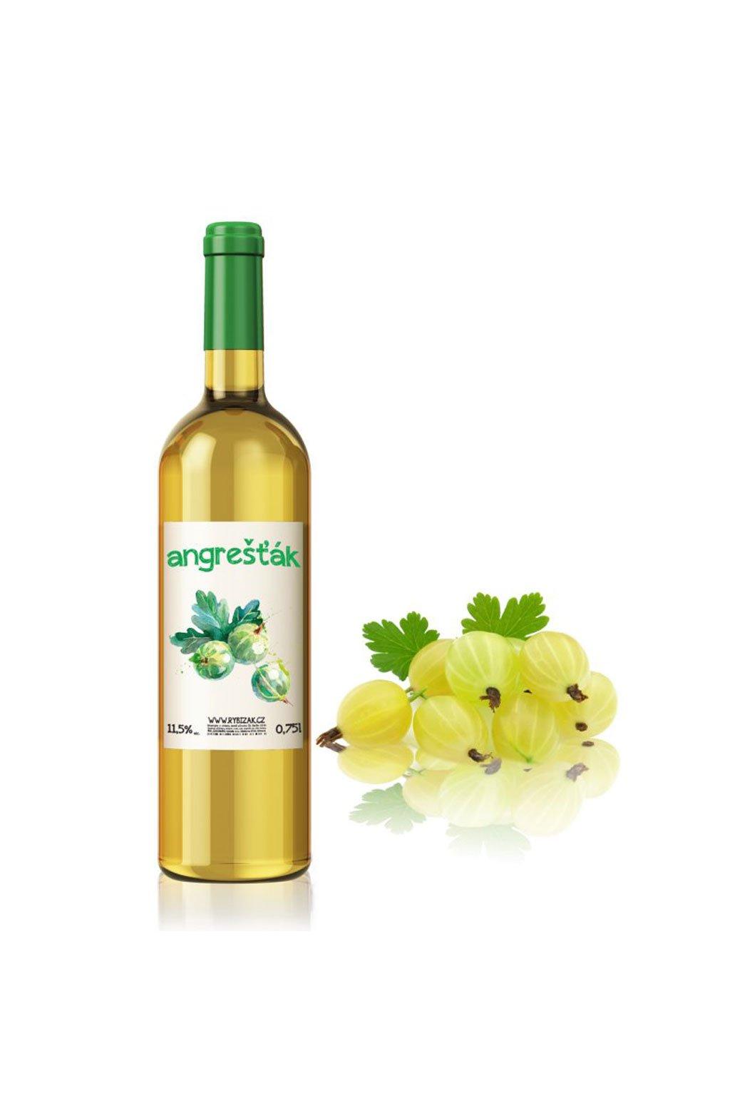 Angrešťák ovocné víno Gurmetéka