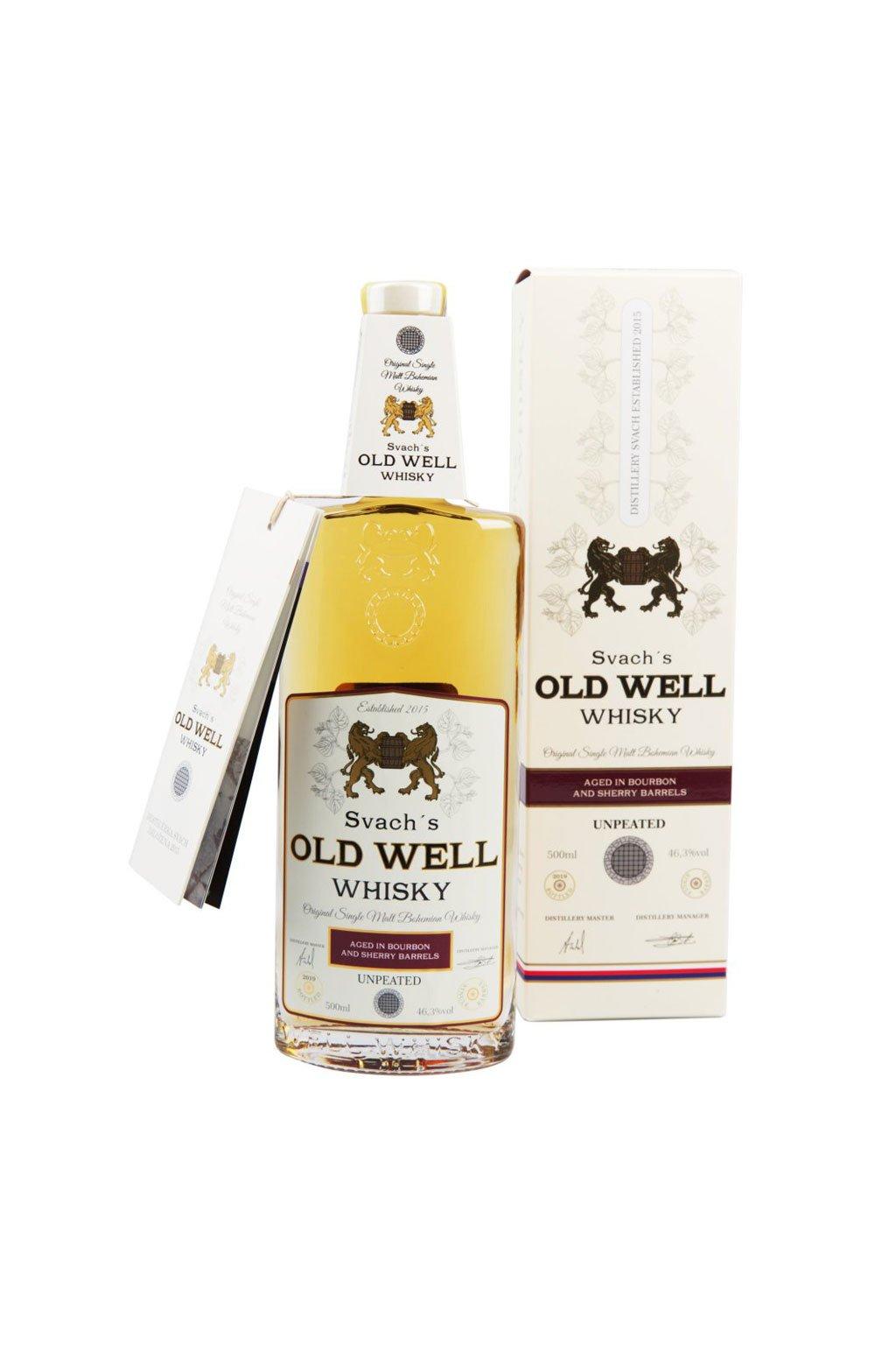 Svachovka old well whiskey sherry 46,3 2