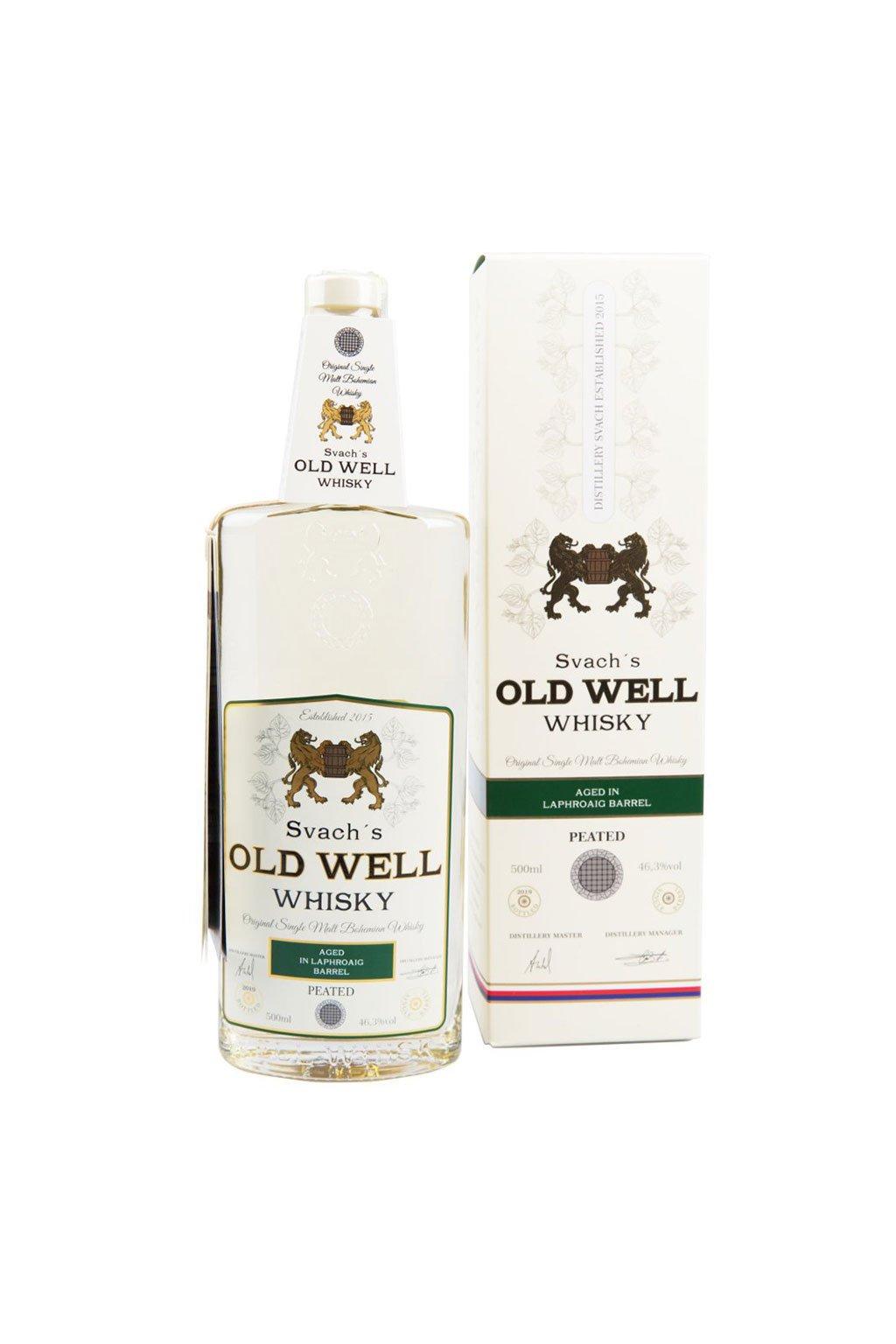 Svachovka old well whiskey laphroaig 46,3 1