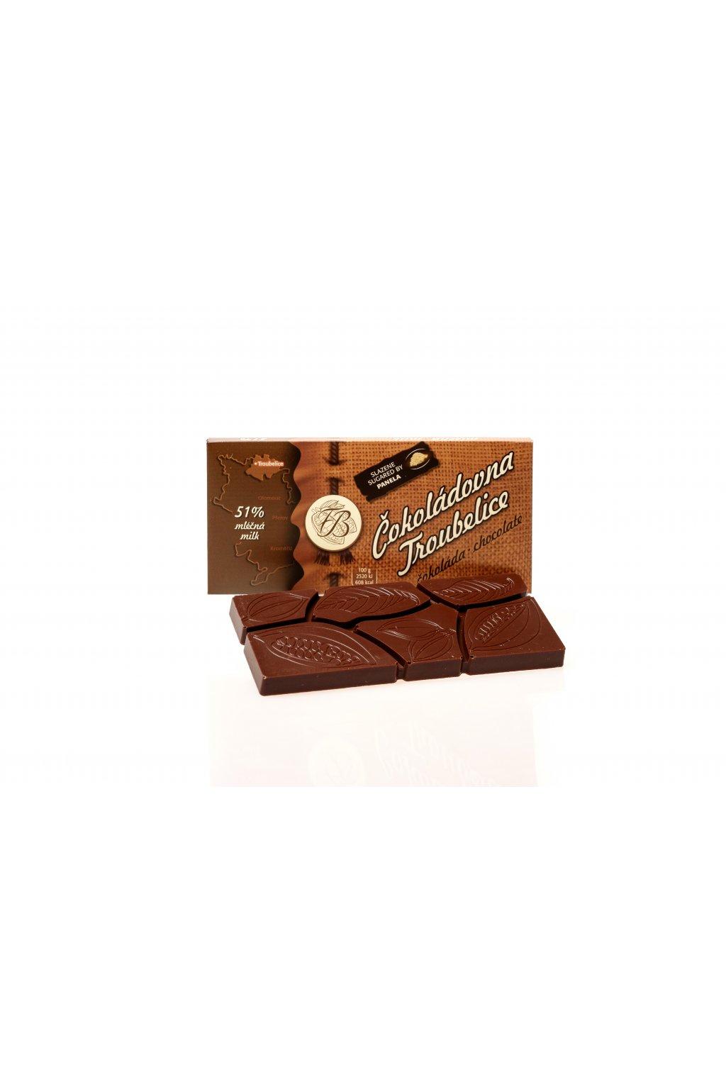 Cokoladovna troubelice 1