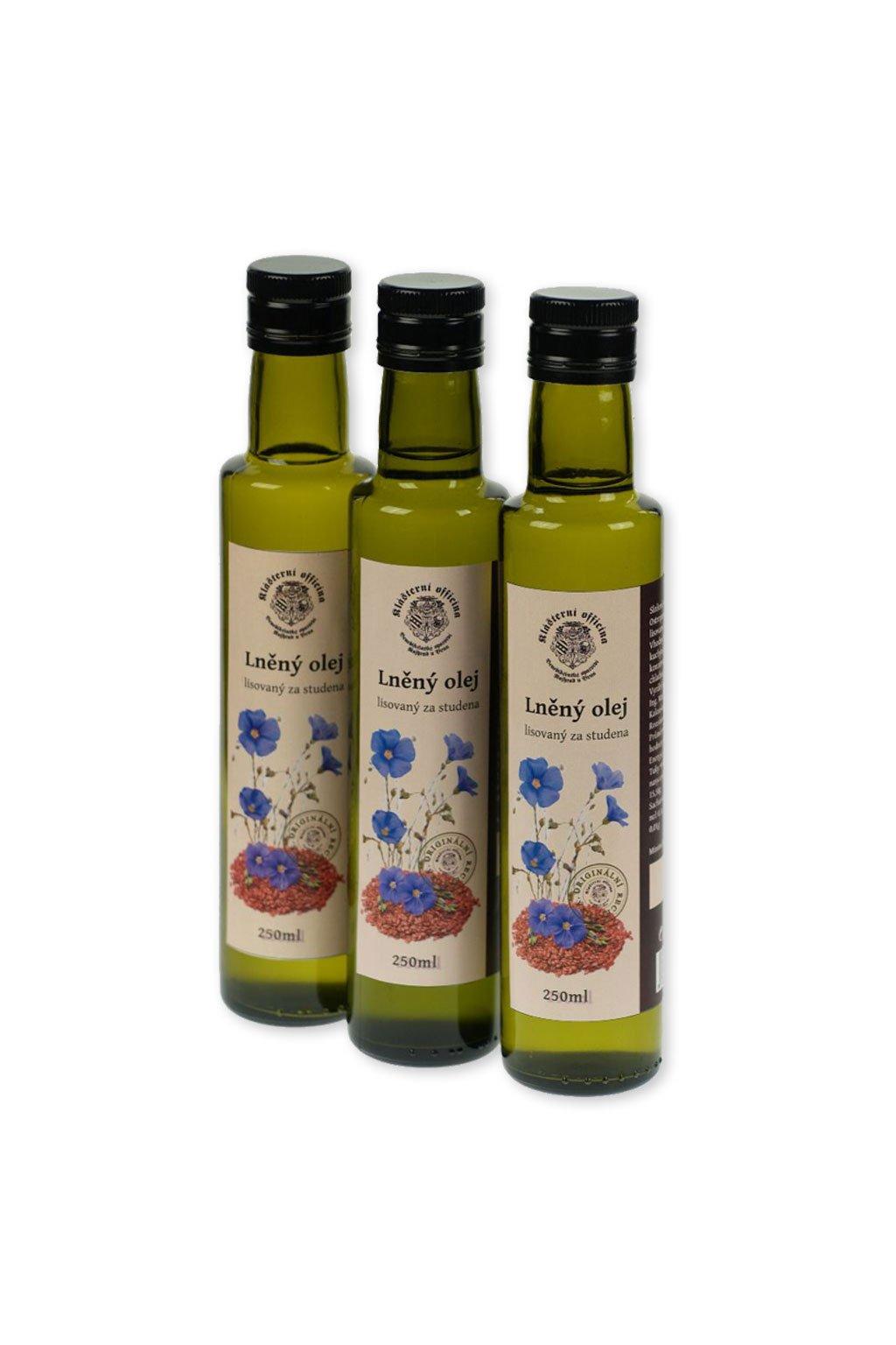 Lněný olej Gurmetéka