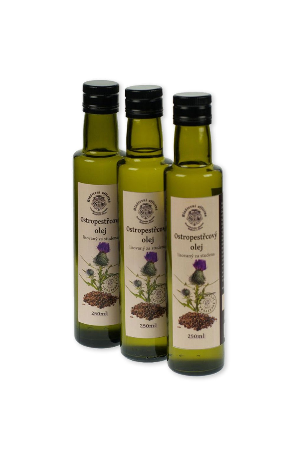 Ostropestřcový olej Gurmetéka