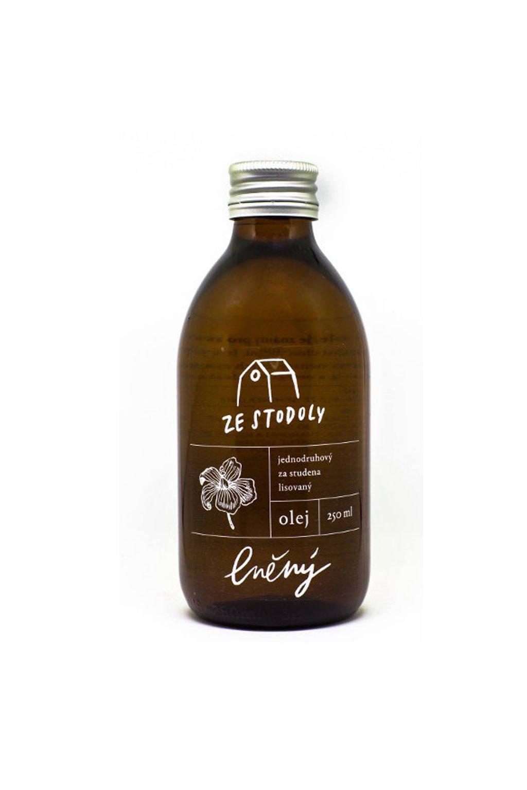 Lněný olej 250ml ze Stodoly