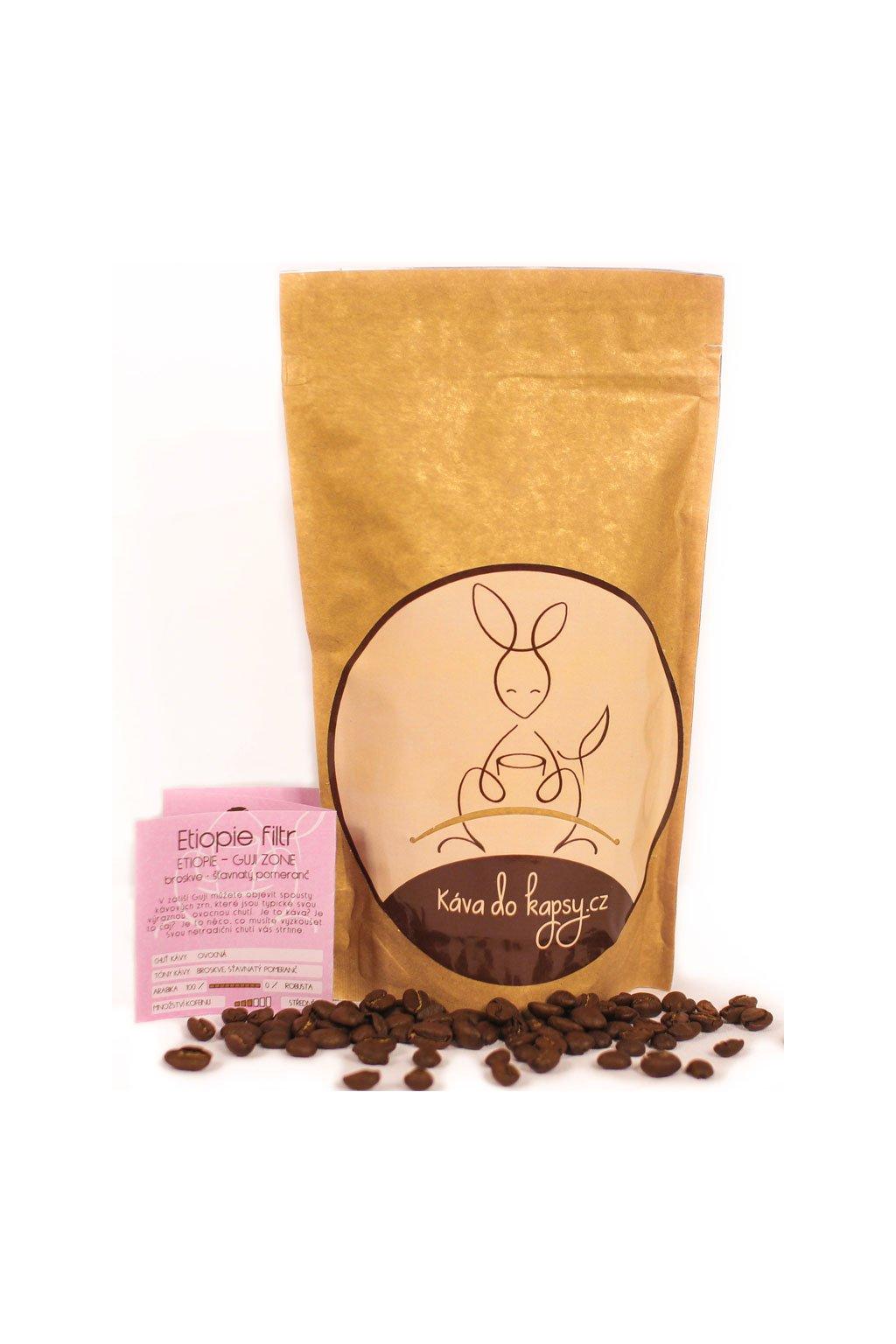 Etiopie Káva do kapsy Gurmetéka