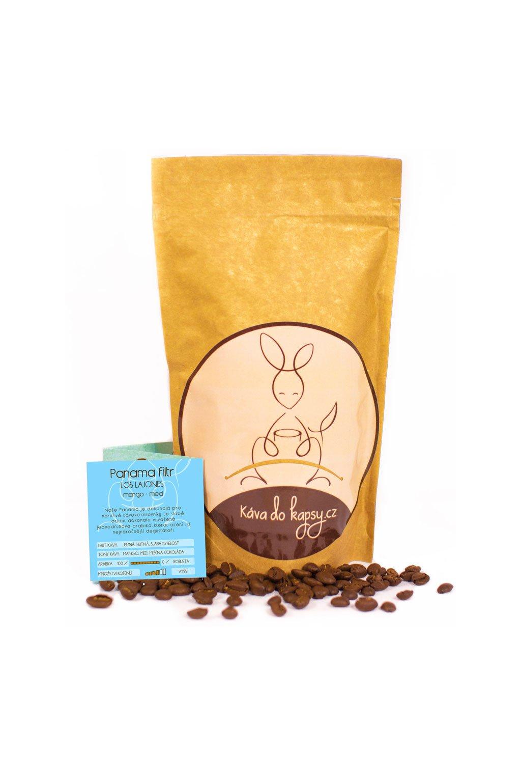 Panama káva do kapsy Gurmetéka