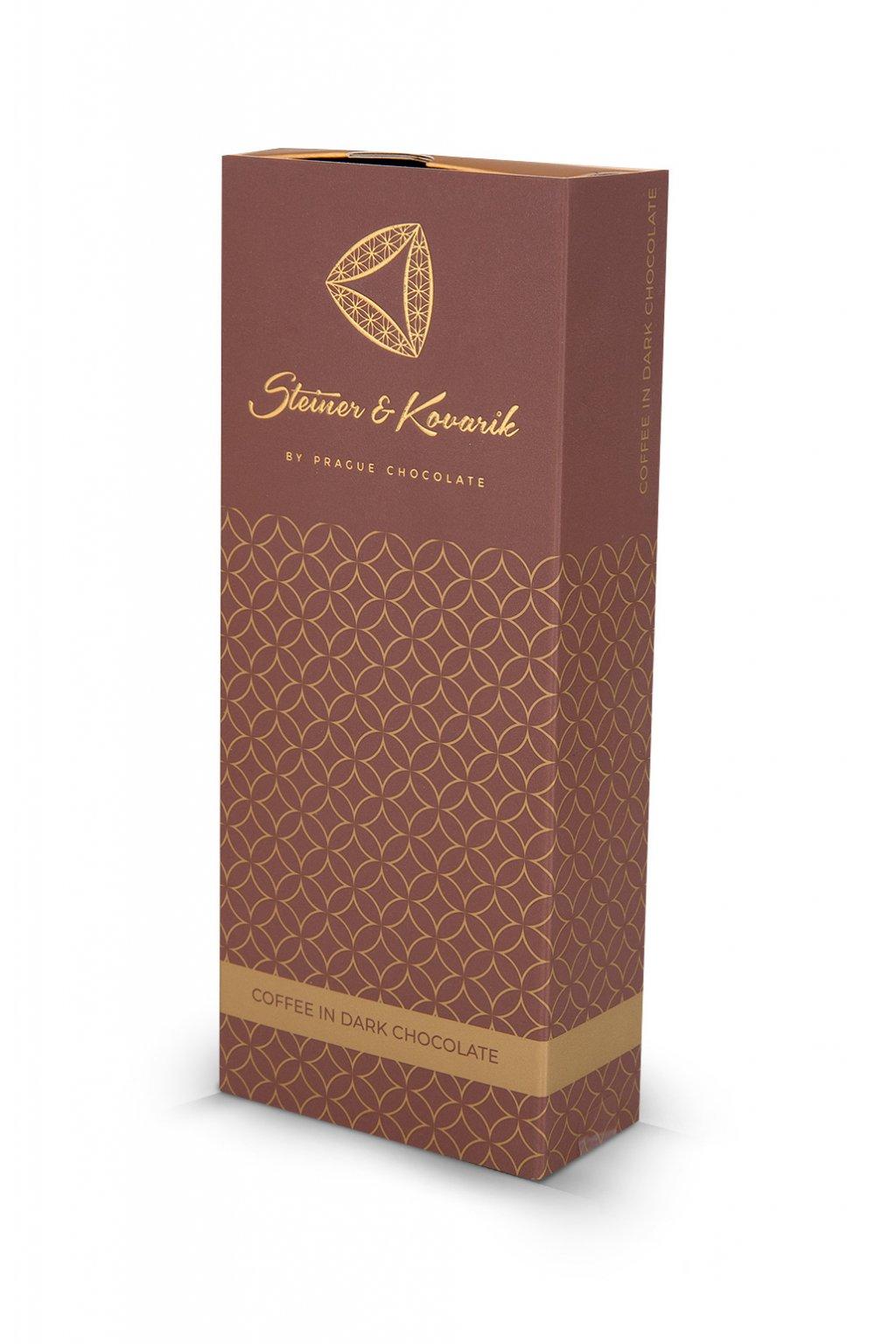 Káva v hořké čokoládě s kakaem, 150 g