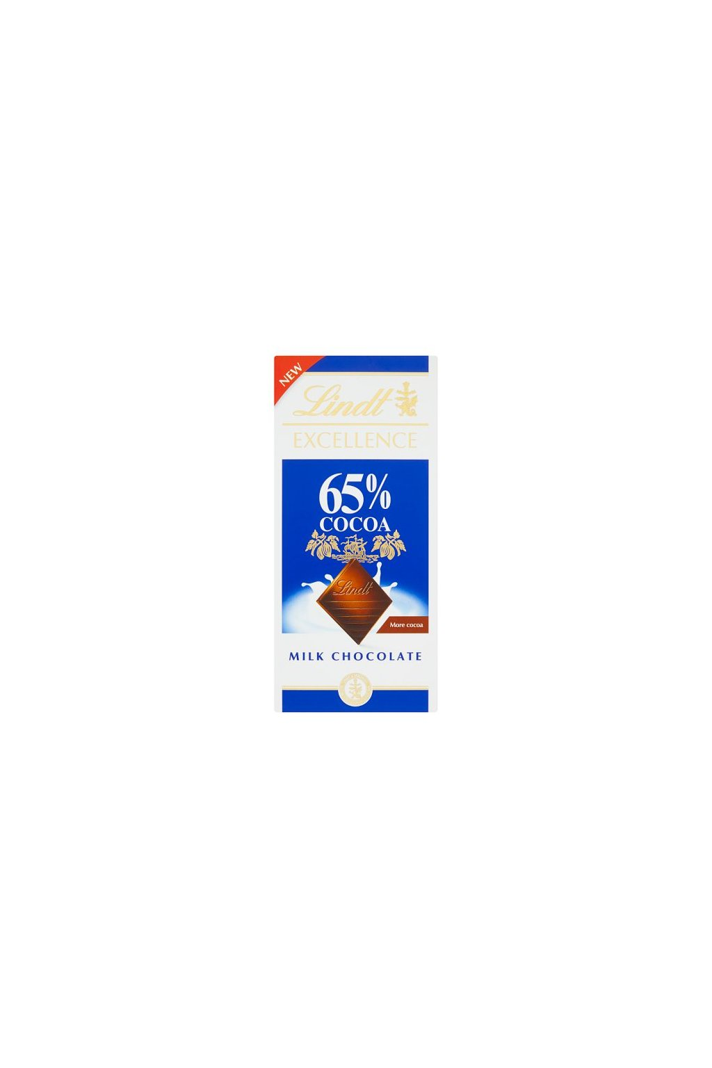 Lindt Excellence 80g Milk 65% Cocoa