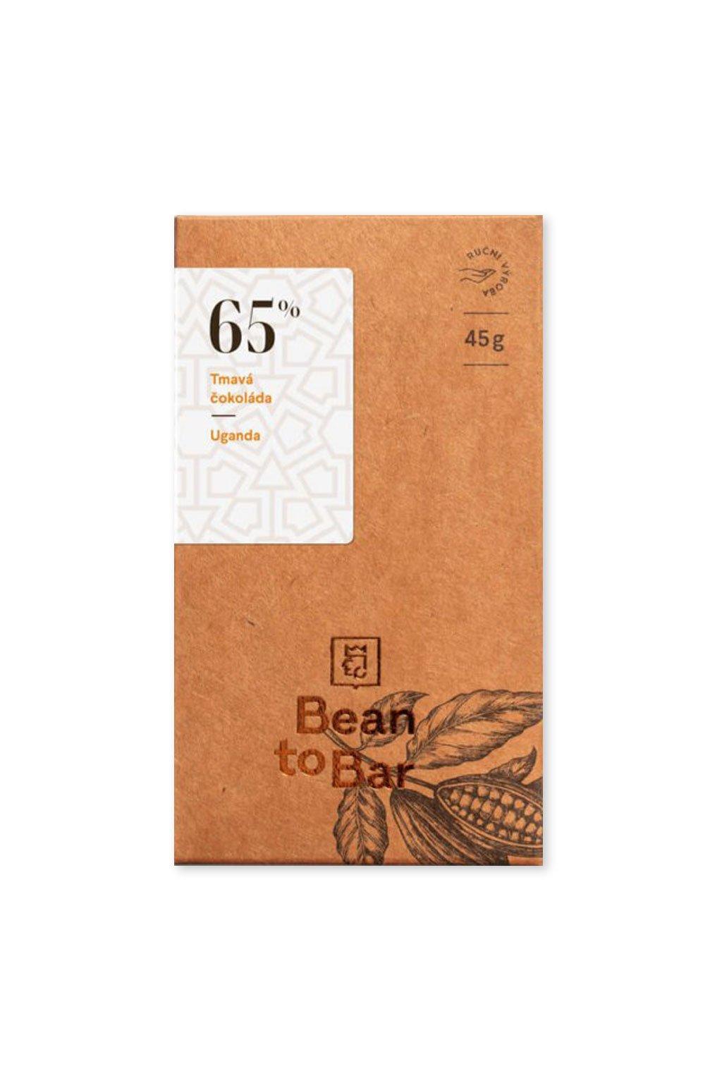Čokoládovna Janek Tmavá 65% Uganda