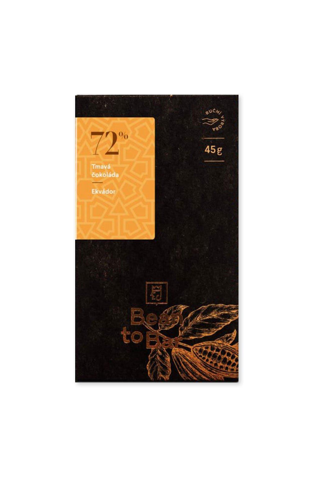 Čokoládovna Janek Tmavá 72% Ekvádor