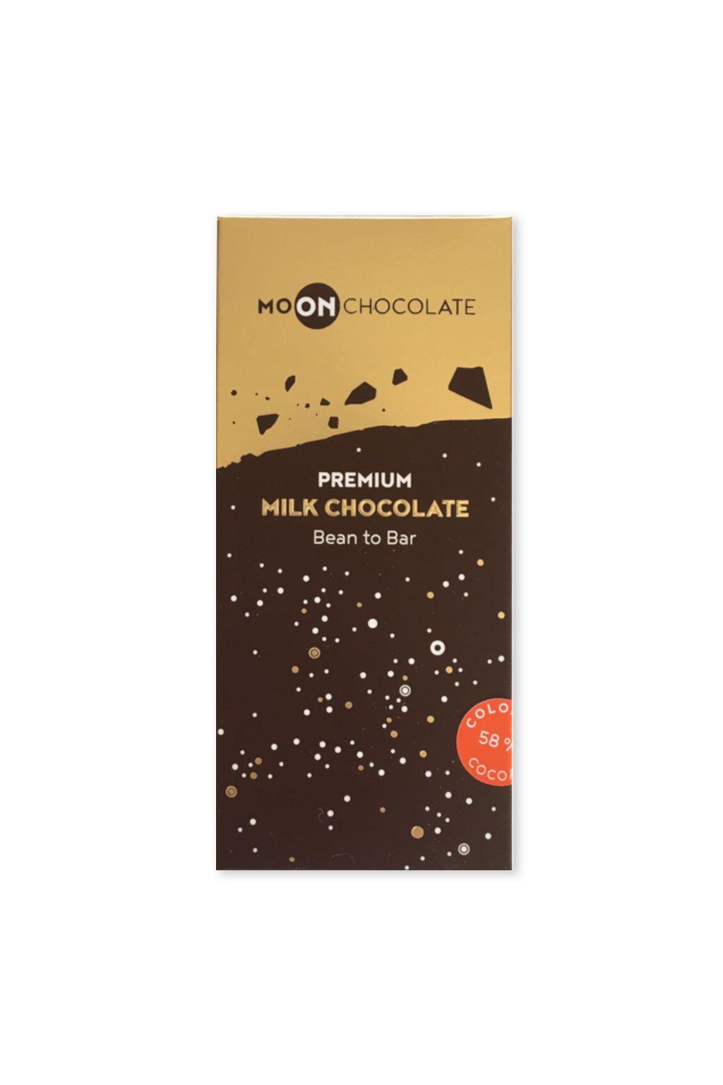 MoonChocolate Mléčná Kolumbie