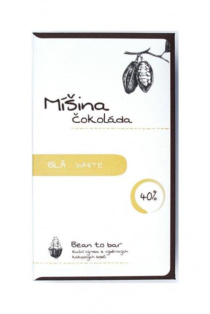 Míšina čokoláda Bílá 40%