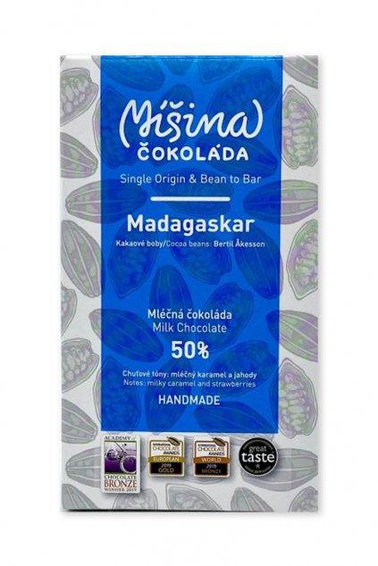 Madagaskar 50% mléčná