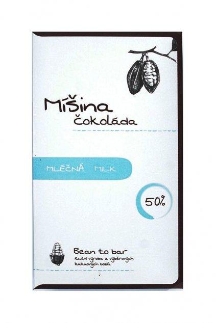 Míšina čokoláda Mléčná 50%Tanzanie a