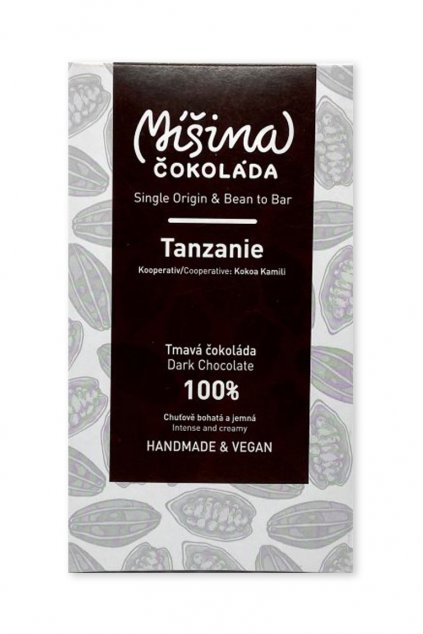 Tanzanie tmavá 100%