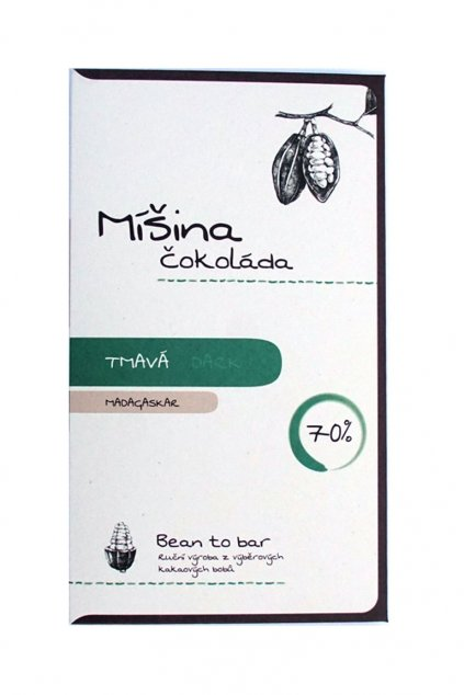Míšina čokoláda Madagaskar 70%