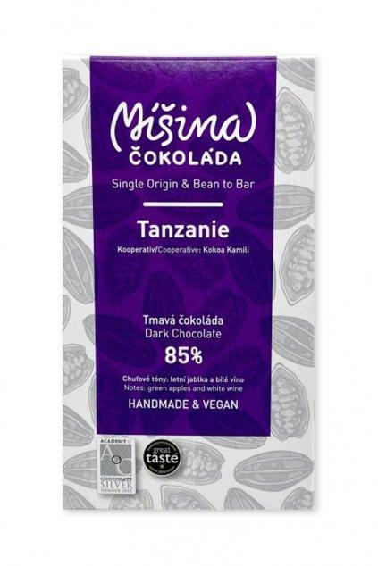 Tanzanie tmavá 85%