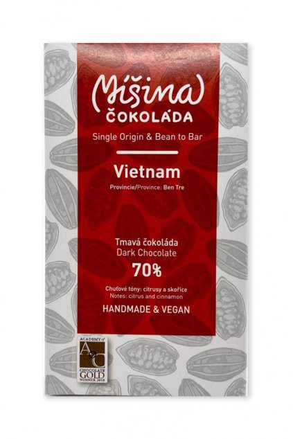 Míšina čokoláda Vietnam 70% 50g